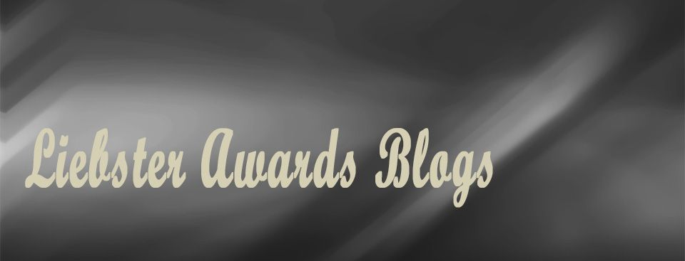 Otro premio Liebster Awards Blogs