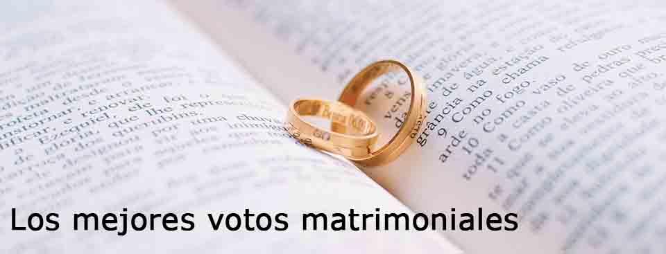 Votos Matrimoniales Gratis